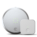 Smart Lock Pro + Connect - Silver