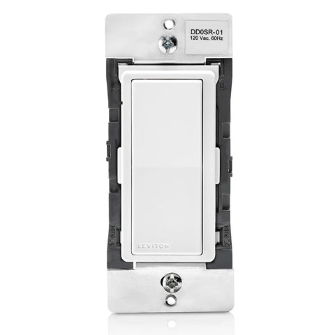 Decora Digital / Decora Smart Coordinating Switch Remote pour une utilisation avec Decora Digital ou Decora Smart Switches dans 3 voies ou jusqu'à 9 applications de localisation supplémentaires.