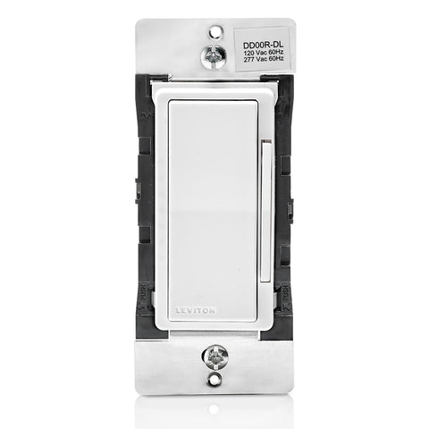 Decora Digital / Decora Smart Dual Voltage Matching Dimmer Remote pour une utilisation avec Decora Digital ou Decora Smart Dimmers dans 3 voies ou jusqu'à 4 applications de localisation supplémentaires.