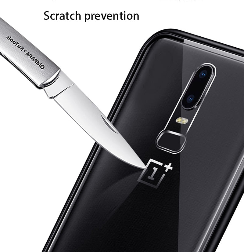 Luxury Magnetic Absorption Metal Cases For OnePlus