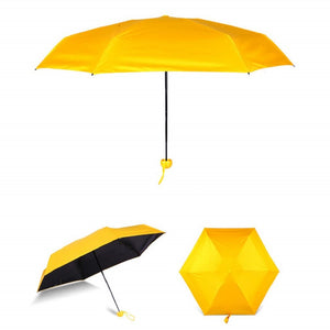 Load image into Gallery viewer, 5 Fold Capsule Umbrella