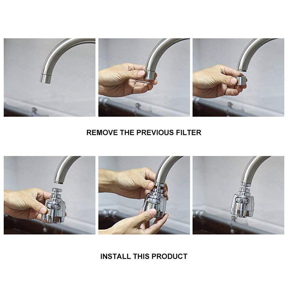Load image into Gallery viewer, Turbo Water Saving Faucet