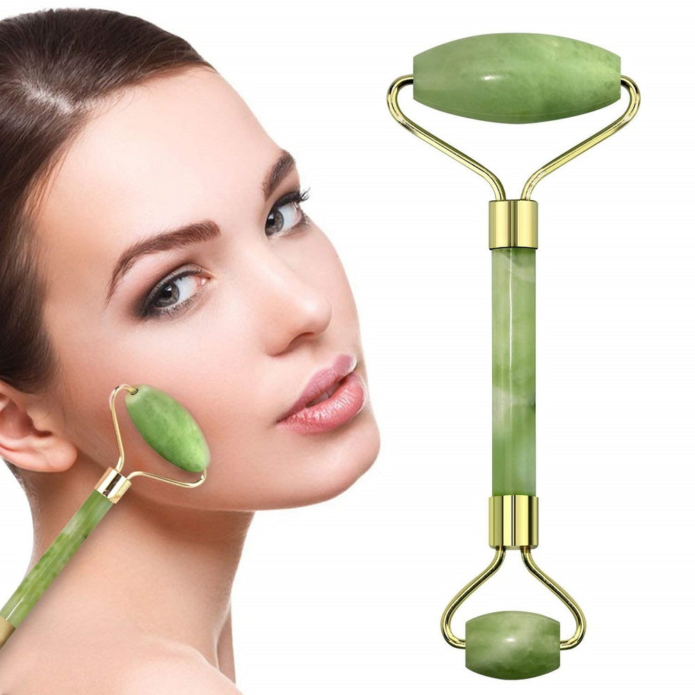 Jade Roller Slimming Face Massage Lifting Tool Massager