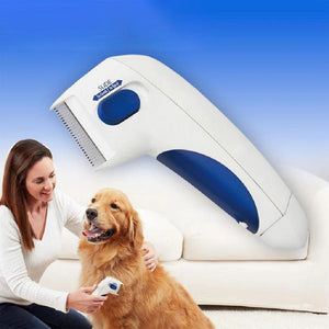 Load image into Gallery viewer, Flea Killer Electric Comb - Great Doctor For Pets + Pet Hair Remover