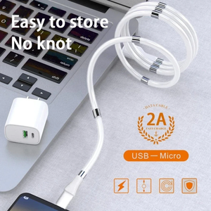 Sleek Type-C Magnetic USB Lightning Fast Charging cable