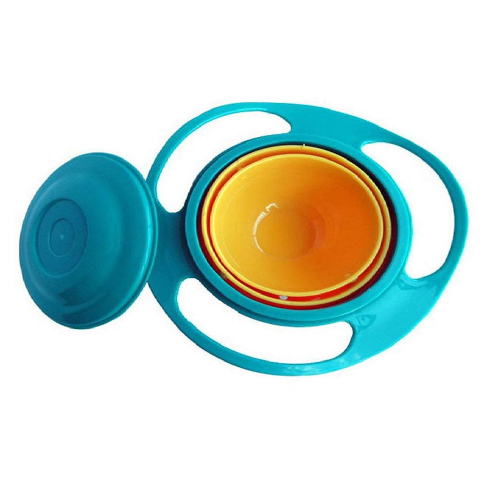 Rotating Spill-Proof Food Bowl For Babies