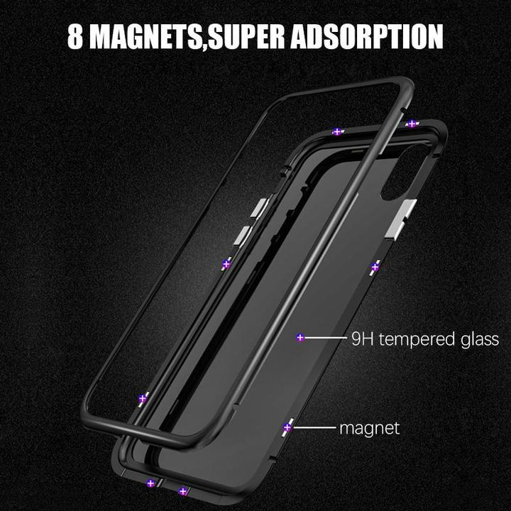Luxury Magnetic Absorption Metal Case For Samsung