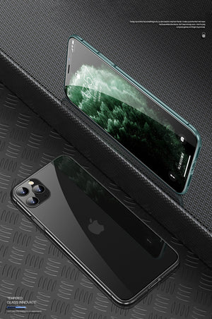 Apple iPhone (Front+Back) Protection Magnetic Fit Case