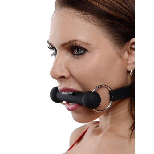 Produkt: Mr. Ed Lockable Silicone Horse Bit Gag