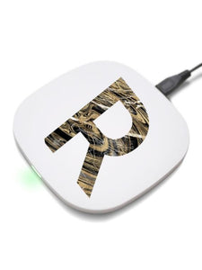 Personalized print wireless charger for iphone/samsung/Qi enabled Devices