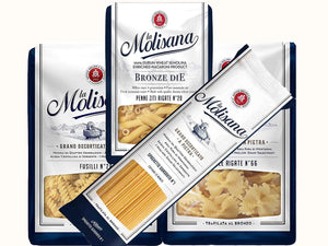 A packet of Molisana pasta