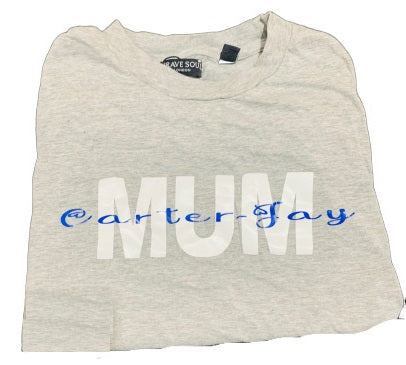 Mum T-shirt with Children's Names - Personalise Me