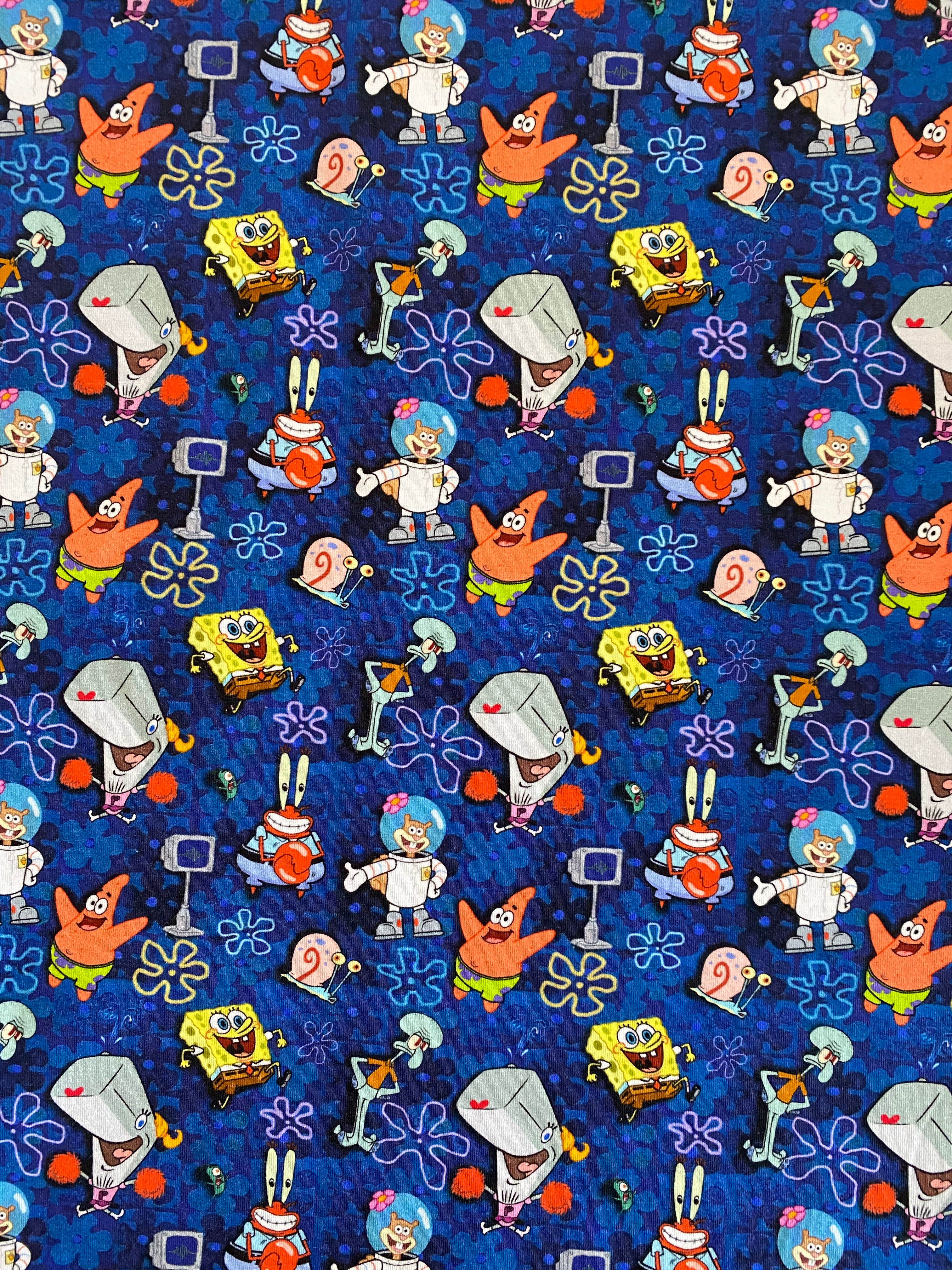 Spongebob Fabric - Personalise Me