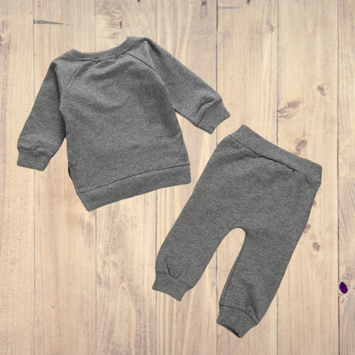 Baby Sweatshirt and Pants Set