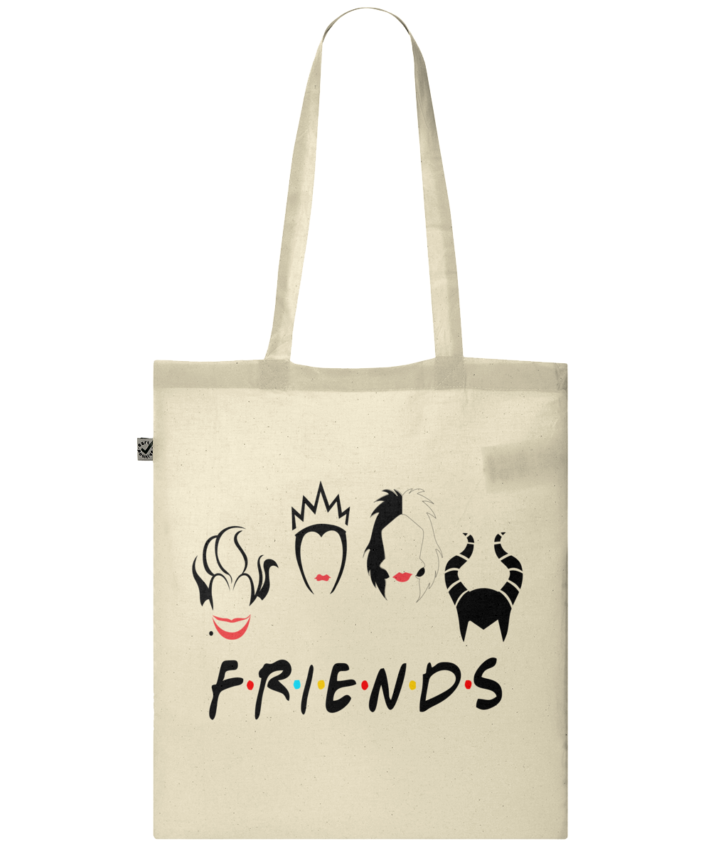 EP70 Classic Shopper Tote Bag Friends Villans Inspired