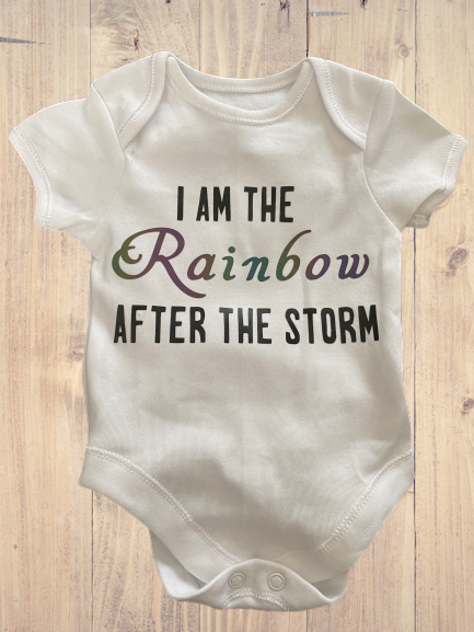 Inspired for Rainbow Babies Vest