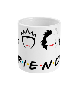 11oz Mug Friends Villans
