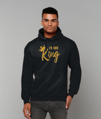 I'm Her King AWDis College Hoodie