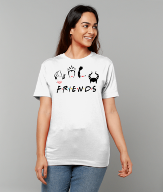 Friends T-Shirt inspired by Villans