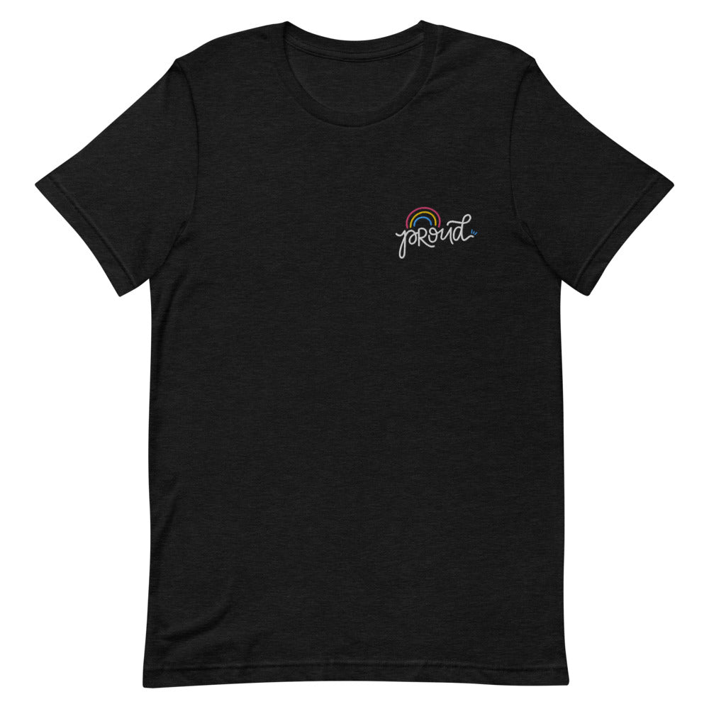 Proud Pansexual Embroidered Shirt