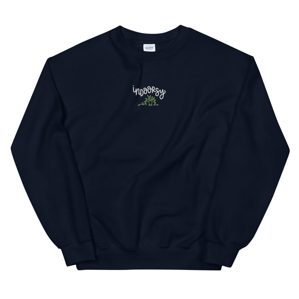 Indoorsy Embroidered Sweatshirt
