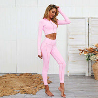 Hollow Out ™ Casual Leggings Set