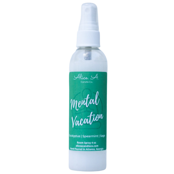 Mental Vacation Room Spray