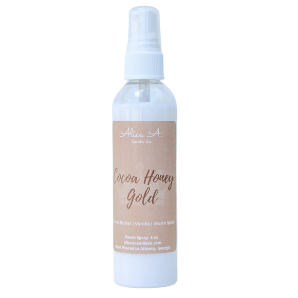 Cocoa Honey Gold Room Spray