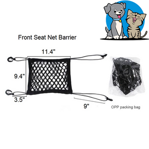 Front Seat Net Barrier - Pet Fresh Forever