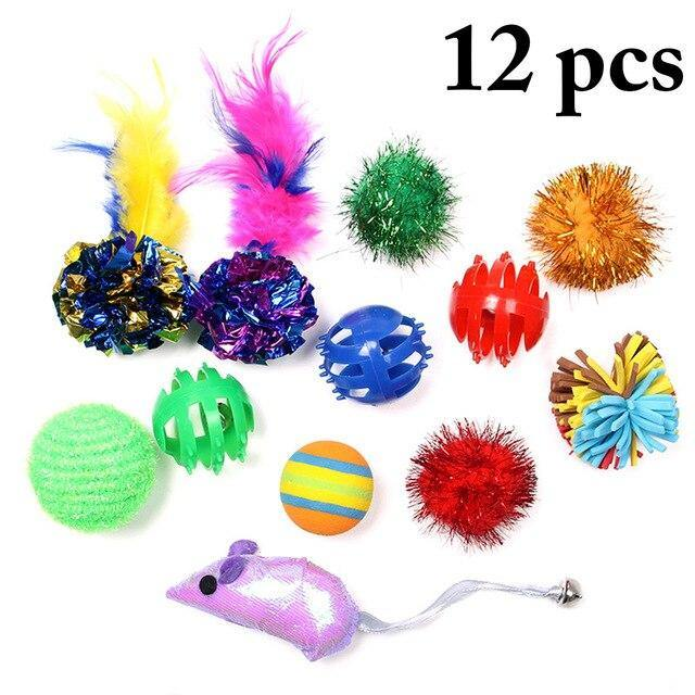 12 Piece Cat Toy Set