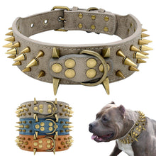 Load image into Gallery viewer, Spiked Dog Collar