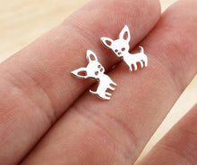 Load image into Gallery viewer, Chihuahua Earrings - Pet Fresh Forever