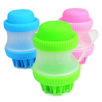 Dog Bath Brush Comb - Pet Fresh Forever