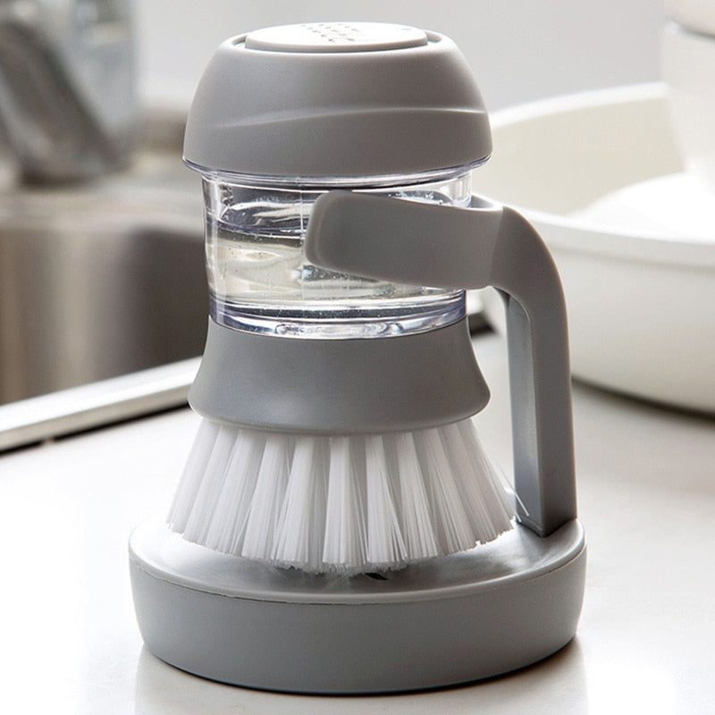 Smart Soap Dispensing Brush - Sink About It