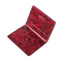 Bordeaux Antiqued Classic Card Holder - Exquisite Trimmings