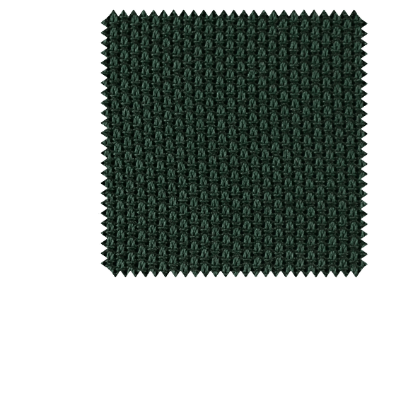 Bespoke Forest Green Small Weave Grenadine Silk Tie 217 - Exquisite Trimmings