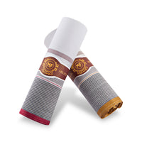 "+ Mileta 2-Pack ""Cigar"" Woven Cotton Handkerchiefs"