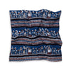 Jahota Hand Block Printed Natural Dyed Cotton Neckerchief