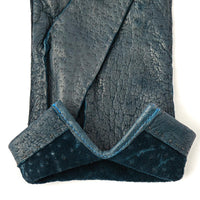 Blue Jeans Peccary Hand-Stitched Unlined Gloves - Exquisite Trimmings
