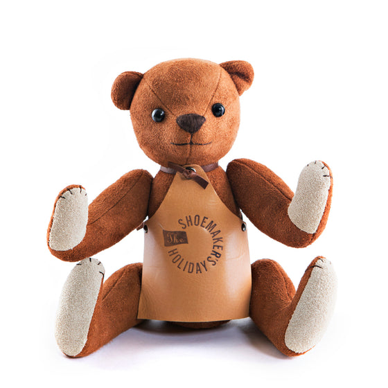 Brown Suede Handmade Teddy Bear