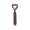 Brown Stripe Cashmere Tie