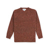 Rust Donegal Pure Wool Crew Neck