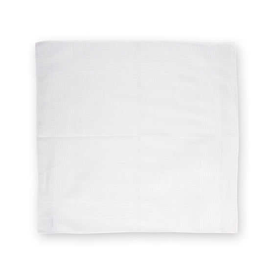 White Archive Fontaine Cotton Handkerchief