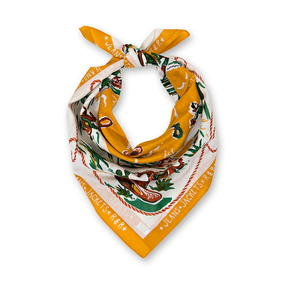 Gold Ranch Cotton Neckerchief