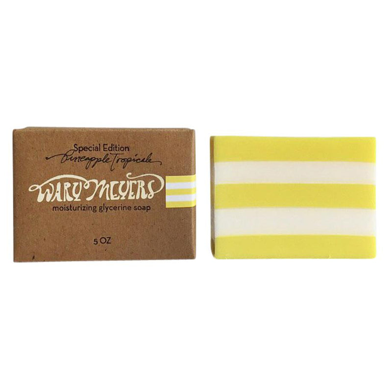 Special Edition Pineapple Tropicale Glycerin Soap - Exquisite Trimmings