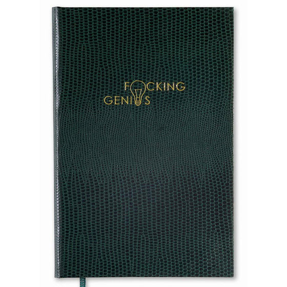 F*cking Genius Pocket Notebook - Exquisite Trimmings