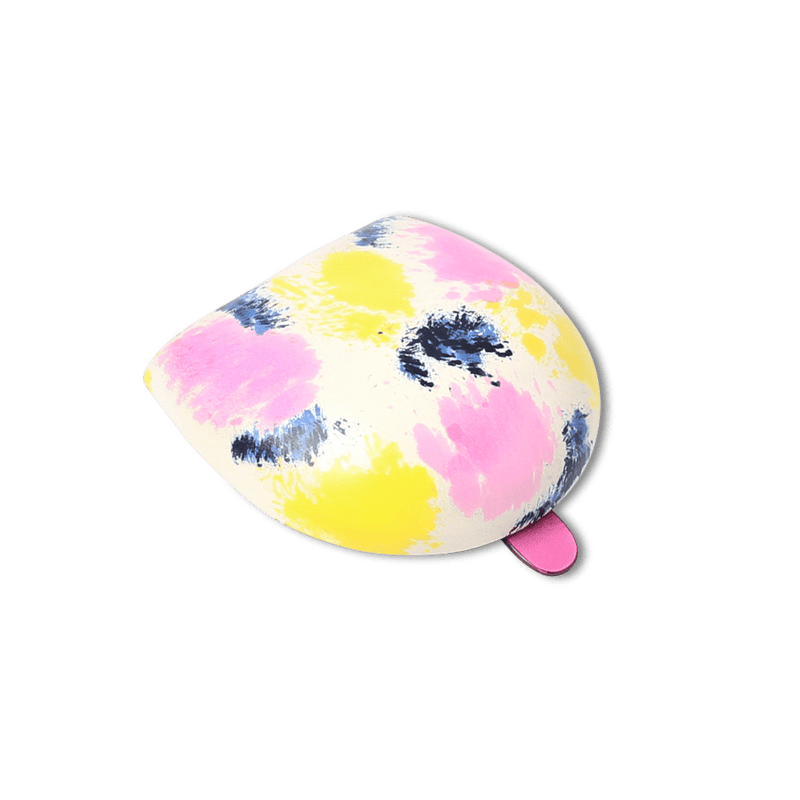 Pink and Yellow Hand Painted Iconic Coin Case - Exquisite Trimmings