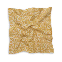 Pedana Kalamkari Hand Block Printed Cotton Neckerchief