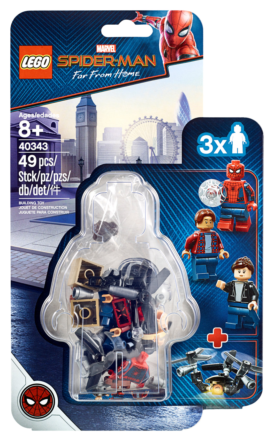 LEGO® Spider-Man and the Museum Break-In 40343