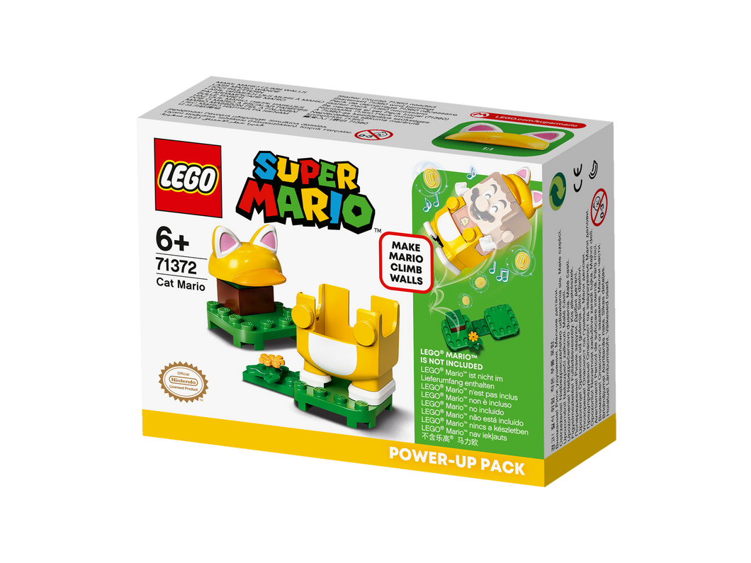 LEGO® Cat Mario Power-Up Pack 71372